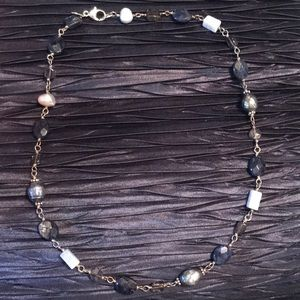 SILPADA Sterling Blue Necklace N1308